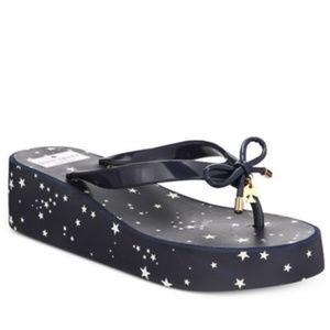 KATE SPADE Wedge Flip Flop Sandals